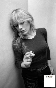 Marianne Faithful, 1981, Limited Edition Print, signed by the celebrity photographer