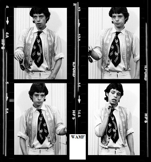 Mick Jagger, Jamaica, 1978, Limited Edition Print, signed by the celebrity photographer
