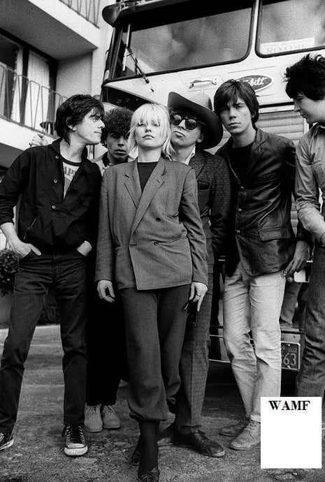 Blondie Group, London, 1980, Limited Edition Print, signed by the celebrity photographer