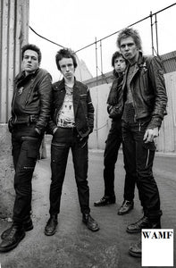 The Clash, Belfast 1977 - V, Limited Edition Print, signed by the celebrity photographer