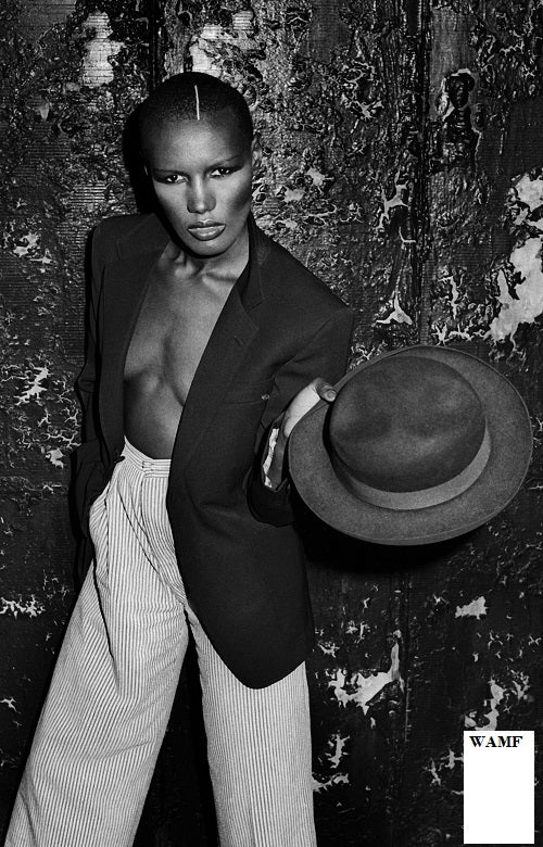 Grace Jones, New York, 1981, Limited Edition Print, signed by the celebrity photographer