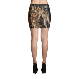 Mini Skirt- Art Masters Inspired - Botticelli