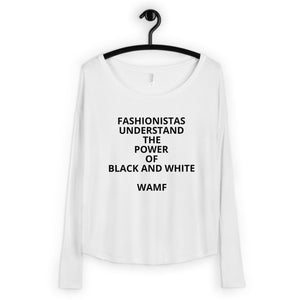 Ladies' Long Sleeve Tee - Fashionistas