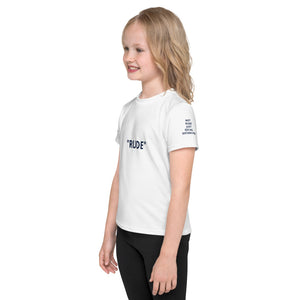 Kids T-Shirt - NOT  RUDE JUST SOCIAL  DISTANCING