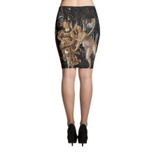 Pencil Skirt- Art Masters Inspired