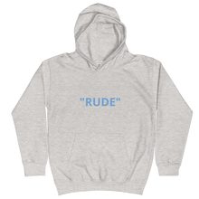 Kids Hoodie - NOT  RUDE JUST SOCIAL  DISTANCING