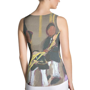 Sublimation Cut & Sew Tank Top - Cotton Club