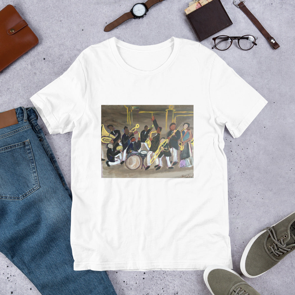 Jazz at the Cotton Club on this cotton short sleeve T says you know the value of the finest art