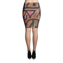 Pencil Skirt - Art Masters Inspired - Paul Klee