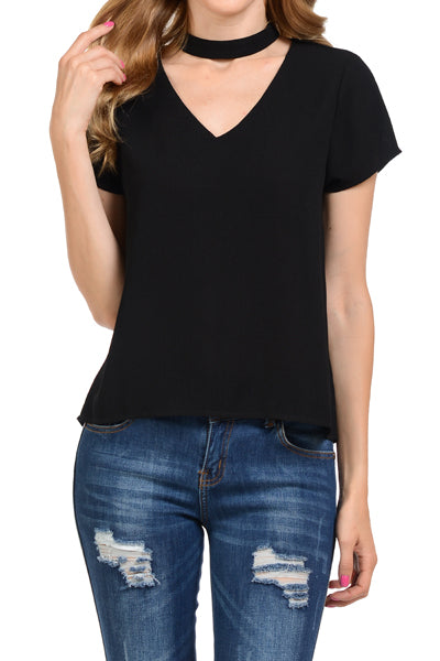 Choker Top - Black