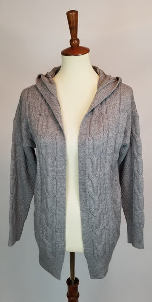 Oversized Cardigan - Grey