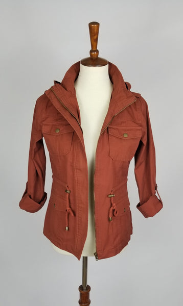 Canvas Utility Jacket - Cinnamon