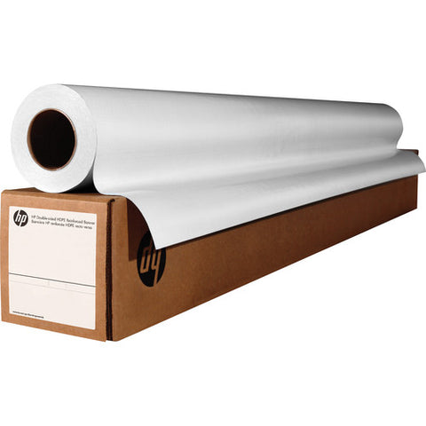 HP Bright White Inkjet Paper, 3-in Core 4.7 mil 90 g/m2 (24 lbs) 24 in x 500 ft