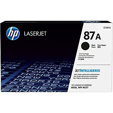 HP 87A (CF287A) Black Original LaserJet Toner Cartridge (9000 Yield)