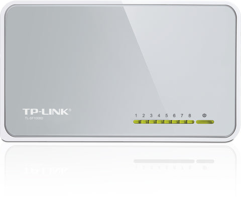 TP-LINK Technologies Co., Ltd  8-PORT 10/100M MINI DESKT OP GREEN SWITCH
