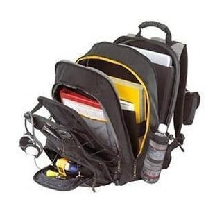 Targus Group International BACKPACK 16 CITY GEAR BLK/ YEL