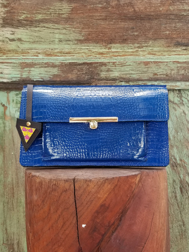 Colette Clutch En Azul Royal