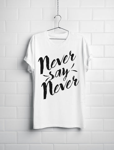 Camisa Never Say Never
