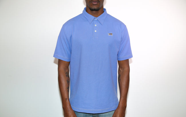 Jesse Spitzer Men's Heather Pique Polo Shirt