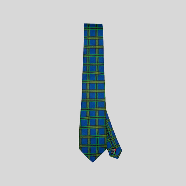 Jesse Spitzer Tartan Tie Made in Italy