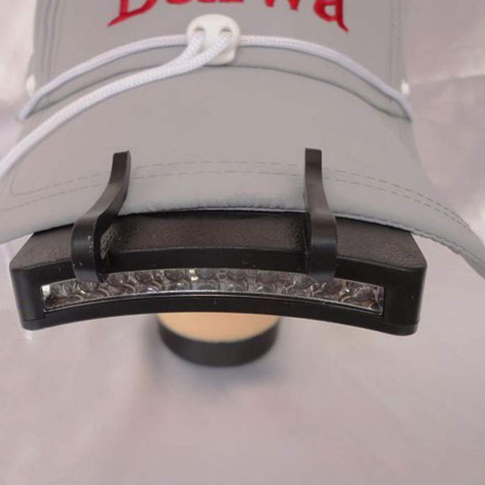 High Quality 11 LED Clip On Cap Hat Light Camping Walking Working Jogging free shipping