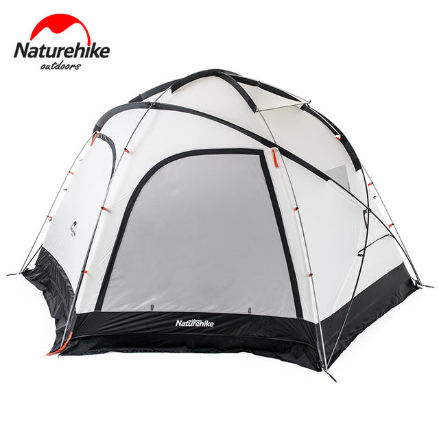 Naturehike Factory Store Cloud Burst Shelter 8-10 people Tent for Family team large camping tent 2 in 1 tent awning - Getbackpacking365.com