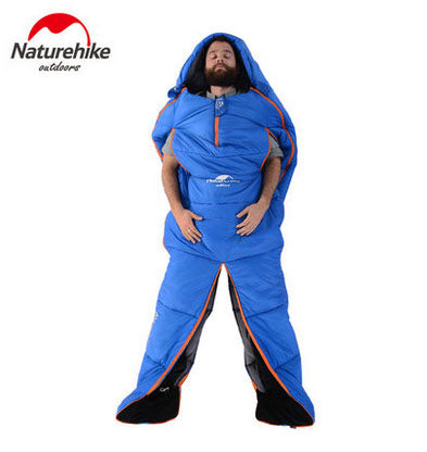 Naturehike Humanoid Sleeping Bag Outdoor Waterproof Camping Adult Ultralight Warm Cotton Material Sleeping Gear NH16R200-X - Getbackpacking365.com