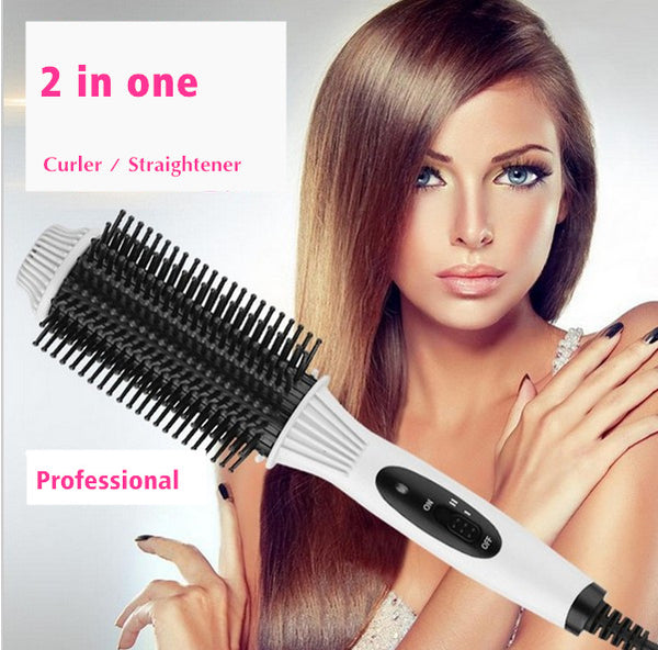 2IN1 Straightening Comb