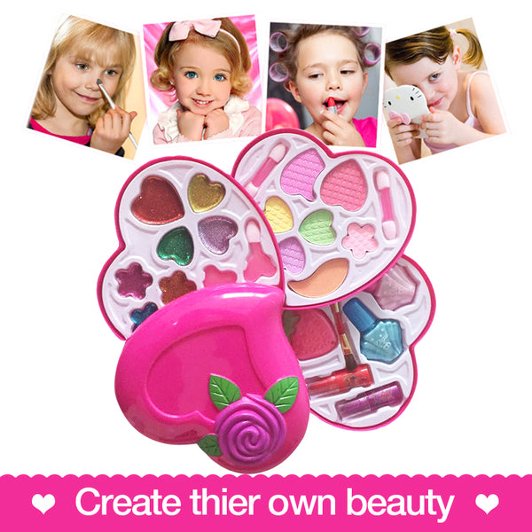 Heart Shape Set Toys Kids Make Up