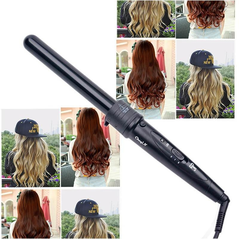 Hot 5 Part Hair Curling Iron Curling Wand Rollers