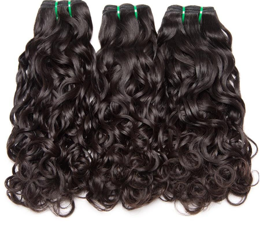 Non Remy Brazilian Water Wave Hair Extensions Beauty Is Essential