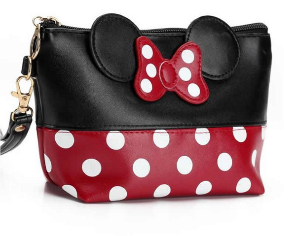 Travel Minnie Bow Cosmetic Bag