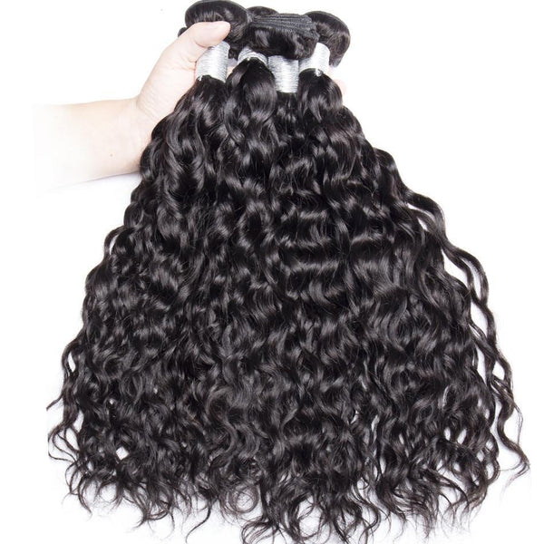 Malaysian Wet and Wavy Human Hair Remy Weave Bundle