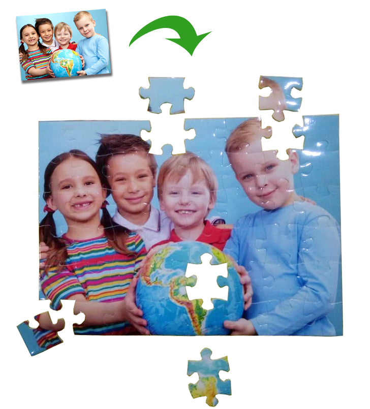 Custom Photo Puzzle Personalized Valentine Gift 48pieces