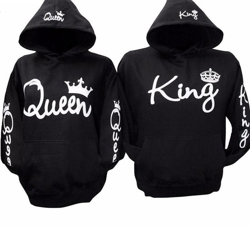 Lovers QUEEN KING Hoody Sweaters