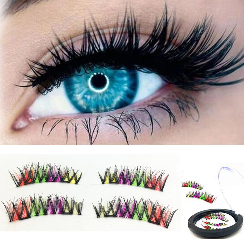 Magnetic False Fake Eyelashes Extension
