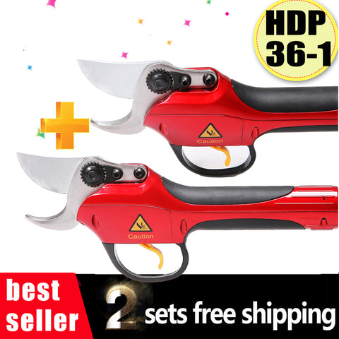 HDP36-1 electric pruner garden pruner pruning shears (two sets together)