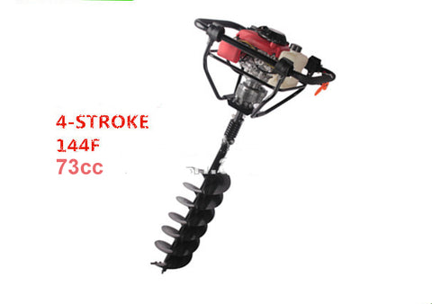 Powerful engine 4 strokes 144F Engine Gasoline Ground Drill/Earth Auger for drilling hole drilling equipment