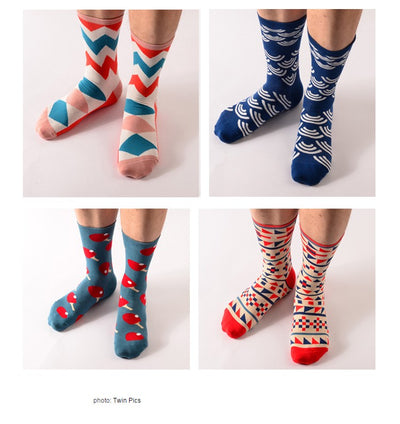 Colorful Men Socks - LuisaMora