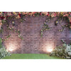 Photography Backdrop - Wall With Flowers - LuisaMora