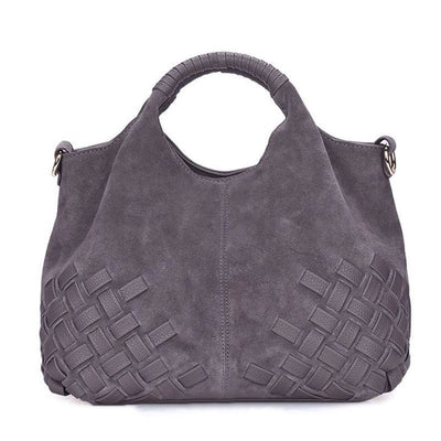 Luxury Leather Handbag - LuisaMora