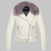 Luxury Winter Leather Jacket - LuisaMora