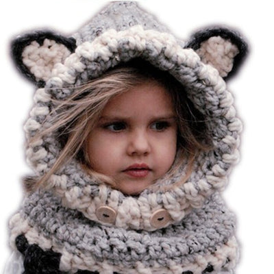 Hand-Knitted Winter Hat