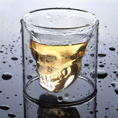 Skull Head Glass - LuisaMora