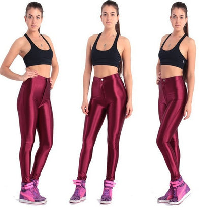 2018 NEW Style Shinny Disco Leggings - LuisaMora