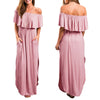 Sensual Off Shoulders Maxi Dress - 5 colors - LuisaMora