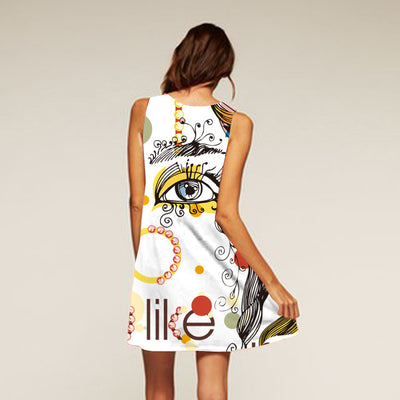 Graceful Beach Dress - LuisaMora