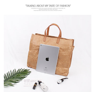 Luxury Kraft Paper Handbag