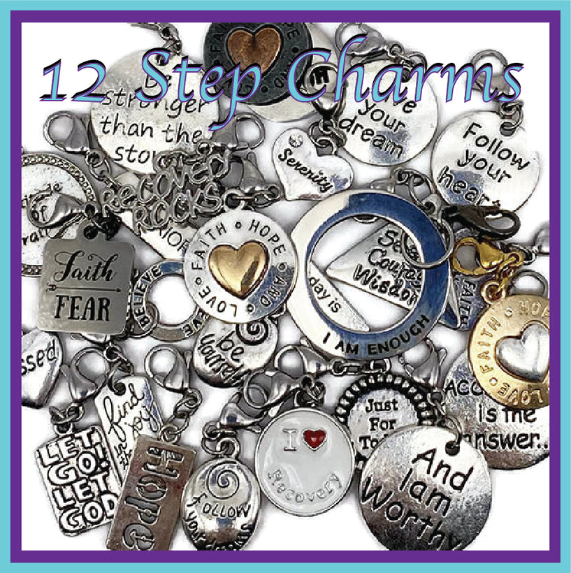 12 Step Recovery & Inspirational Charms