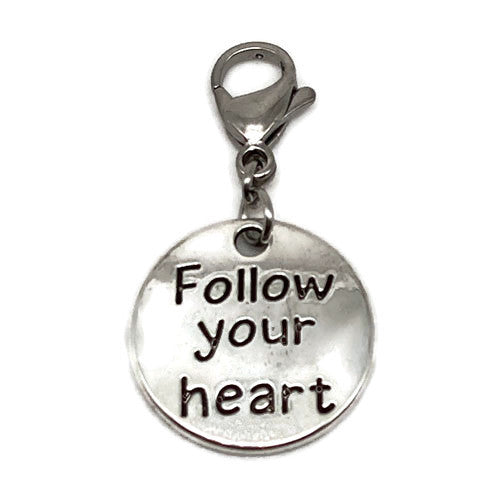 """Follow Your Heart"" Charm"